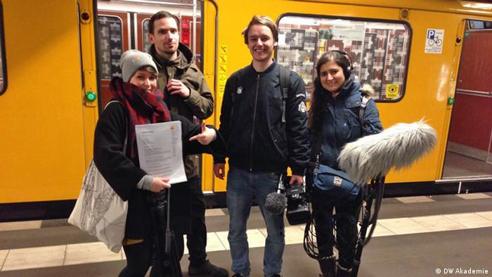 DW Volontariat Ausschreibung Fotos (DW Akademie)