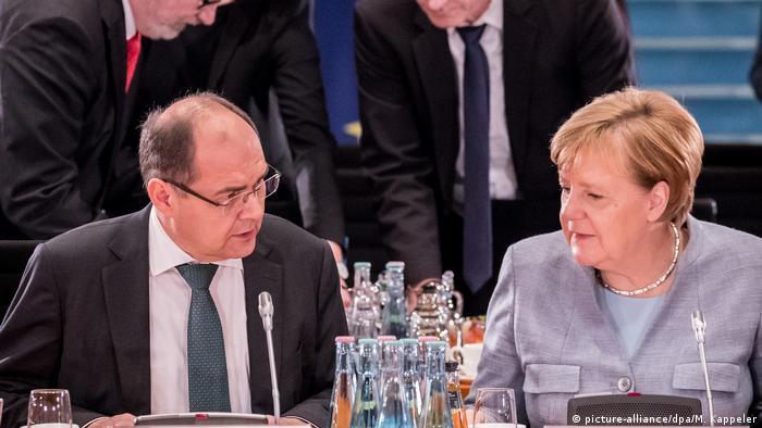 Christian Schmidt i Angela Merkel