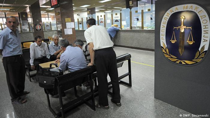 Mazedonien Strafgericht in Skopje