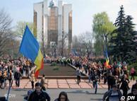 Imagini din  Chişinău (aprilie 2009)
