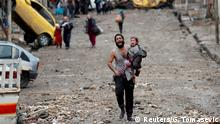 Irak Mossul Flüchtlinge IS