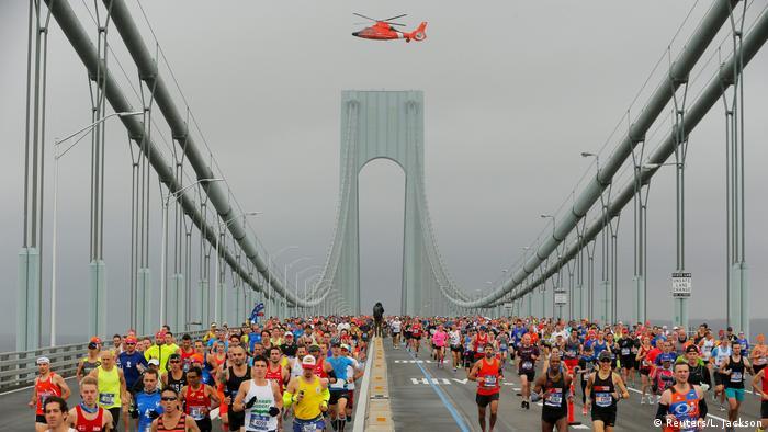 EE. UU. Maratón de Nueva York.