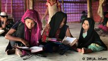 Myanmar Girls learn Quran in Cox's Bazar