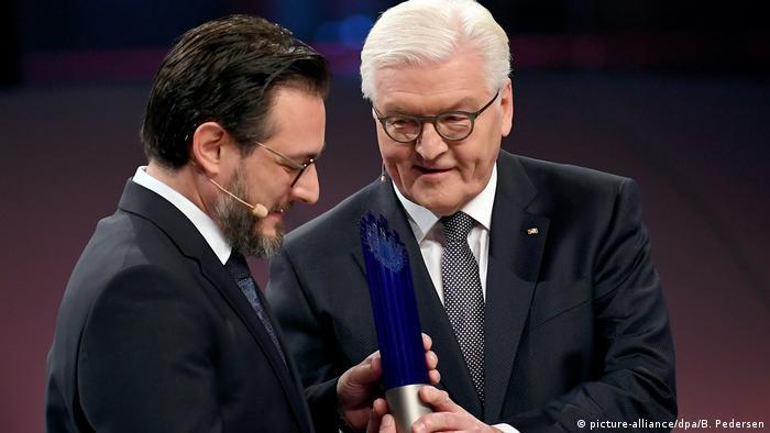 Verleihung Deutscher Zukunftspreis 2017 an Sami Haddadin (picture-alliance/dpa/B. Pedersen)