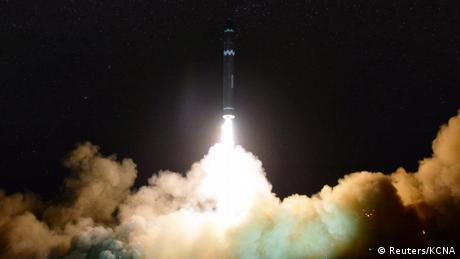 North Korea rocket test (Reuters/KCNA)