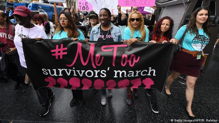 USA Protest #MeToo (Getty Images/AFP/M. Ralston)