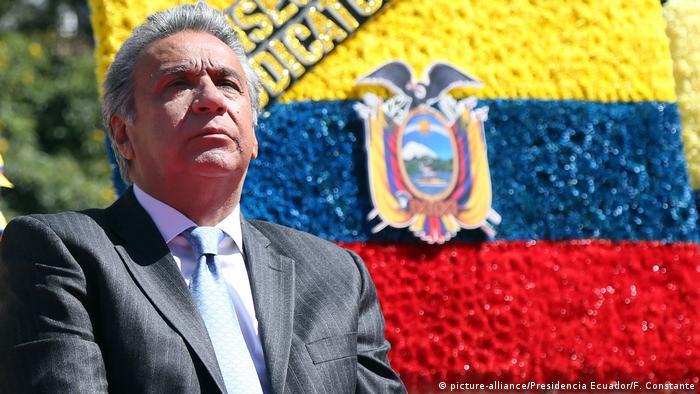 Ecuador Präsident Lenin Moreno (picture-alliance/Presidencia Ecuador/F. Constante)