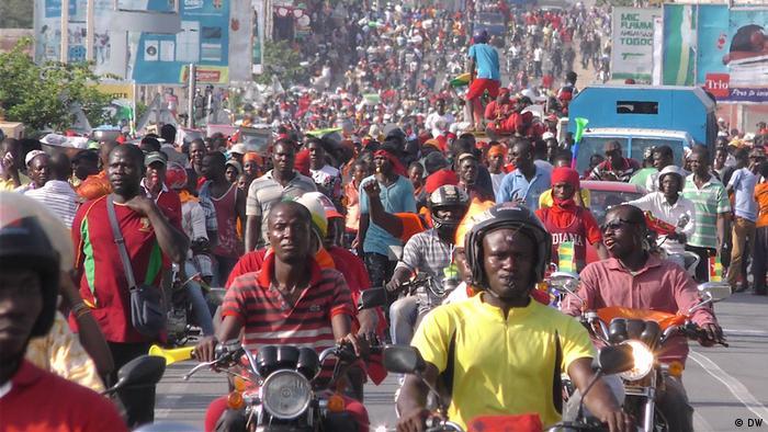 Na quinta-feira (30.11), outra manifestação já havia ocorrido em Lomé