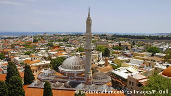 Griechenland Stadt Rhodos (picture-alliance/Arco Images/P. Goll)