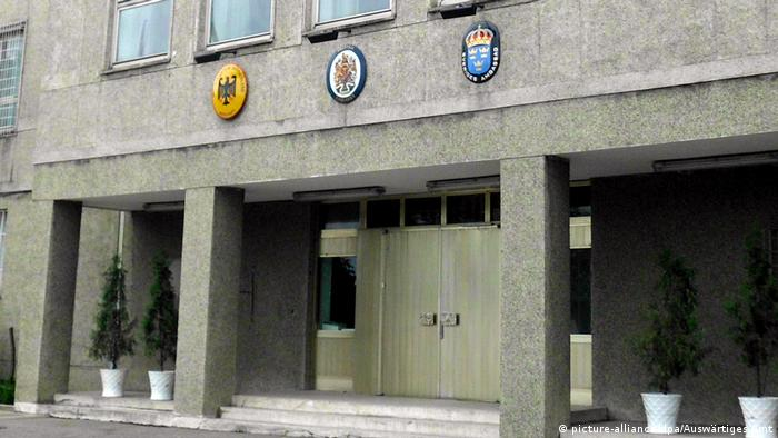 Kedutaan Besar Jerman di area luas di Pyongyang