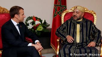 Elfenbeinküste EU-Afrika-Gipfel   Macron und König Mohammed VI