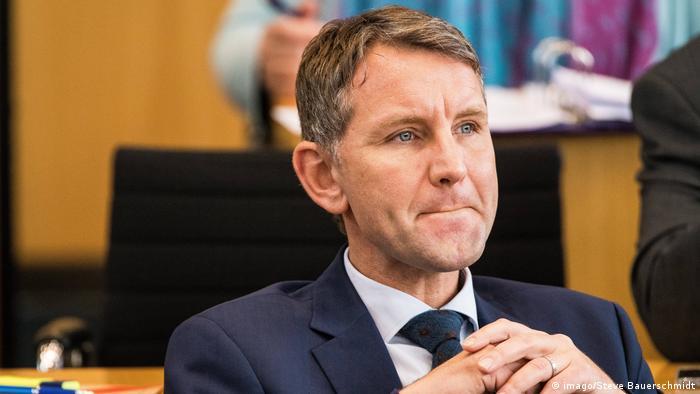 AfD chief for Thuringia Björn Höcke (imago/Steve Bauerschmidt)
