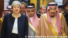 Saudi-Arabien Besuch Theresa May in Riad
