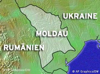 Lage in der Republik Moldau