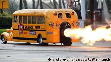 BdT School Jet Bus wird auf der Essen Motor Show vorgestellt
