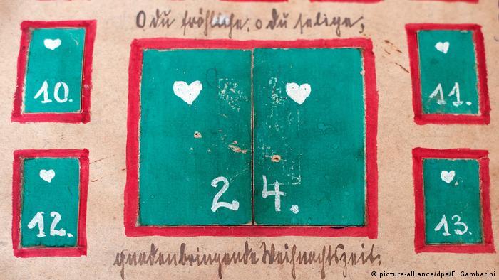 Рождественский календарь 20-го века