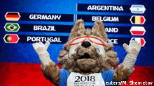 29.11.2017 +++ Zabivaka, the official mascot for the 2018 FIFA World Cup Russia, takes part in the Behind the scenes of the Final Draw event prior to the upcoming Final Draw of the 2018 FIFA World Cup Russia in Moscow, Russia November 29, 2017. REUTERS/Maxim Shemetov