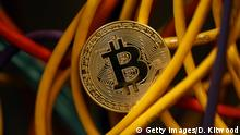 A visual representation of the digital Cryptocurrency, Bitcoin (Getty Images/D. Kitwood)