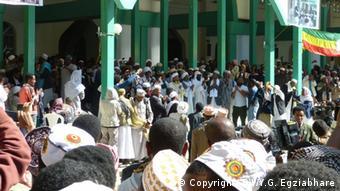 Äthiopien Mawlid Feier