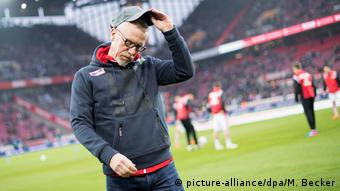 Peter Stöger, Trainer 1. FC Köln (picture-alliance/dpa/M. Becker)