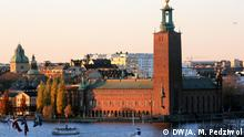 Schweden Stockholm Stadtrathaus