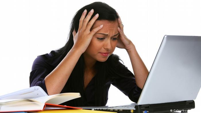 Symbolbild Stress Kopfschmerzen (Colourbox/Wodicka)