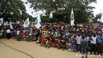 Mosambik - Anhänger der MDM Partei