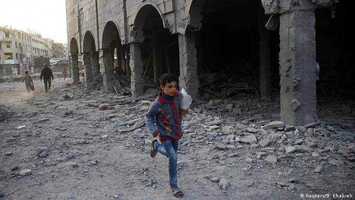Syrien Krieg - Ostghuta bei Damaskus (Reuters/B. Khabieh)