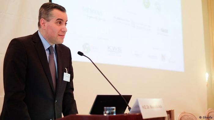 مصطفی ادیب، از سال ۲۰۱۳ تا ۳۱ اوت ۲۰۲۰ سفیر لبنان در آلمان بوده است.