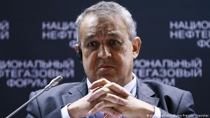 Venezuela Erdölminister Eulogio del Pino (picture-alliance/Zuma Press/K. Stanislav)