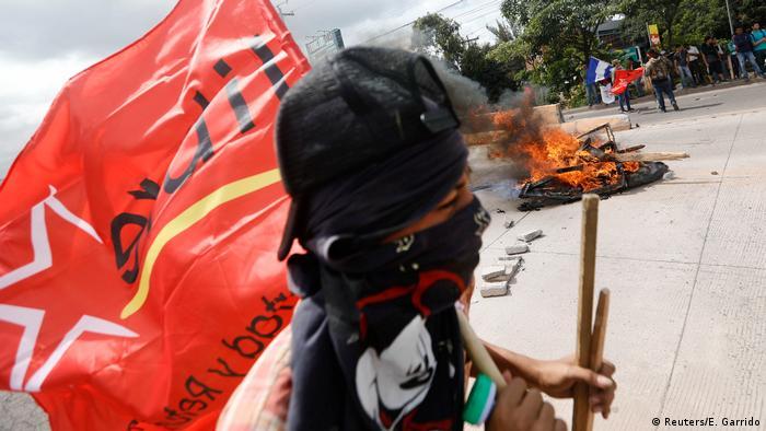 Honduras Wahlen - Ausschreitungen (Reuters/E. Garrido)