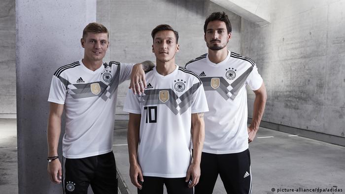 WM-Trikot für 2018 (picture-alliance/dpa/adidas)