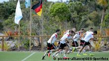 Fussball WM 2014: DFB-Training Santo Andre