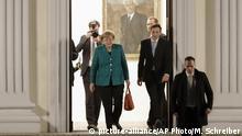Deutschland Spitzentreffen beim Bundespräsidenten