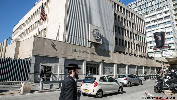 Israel US-Botschaft in Tel Aviv (Getty Images/AFP/J. Guez)