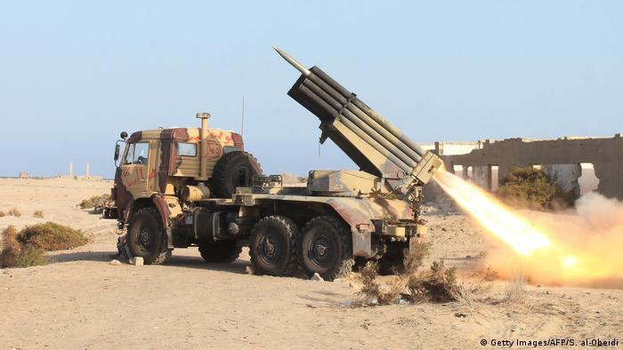 Jemen Raketenabschuss (Getty Images/AFP/S. al-Obeidi)