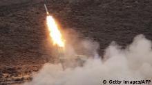 Jemen Raketenabschuss