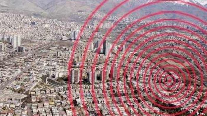 Erdbeben Iran Kerman (Irna)