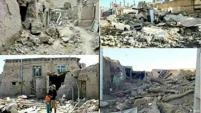 Erdbeben Iran Kerman ( Isna)
