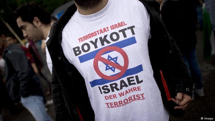 Berlin Demo Al Quds Tag Israel Boykott (Imago)