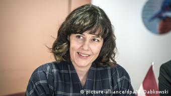 Dana Reizniece-Ozola Finanzministerin Lettland (picture-alliance/dpa/W. Dabkowski)