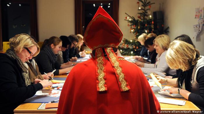 Himmlische Orte Weihnachtspostämter (picture-alliance/dpa/I. Wagner)