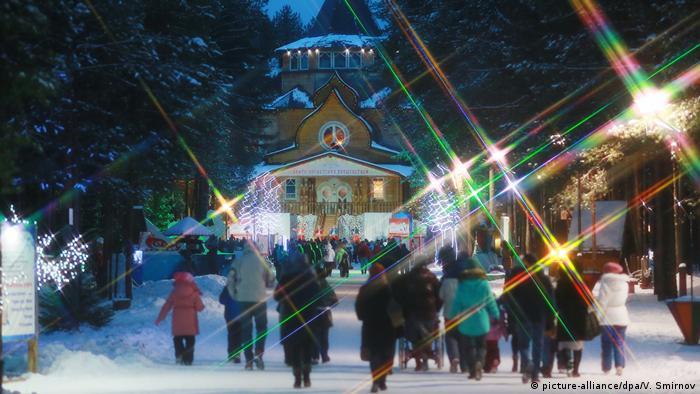 Himmlische Orte Russland Väterchen Frost (picture-alliance/dpa/V. Smirnov)