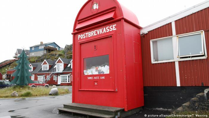 Santa's mailbox in Greenland