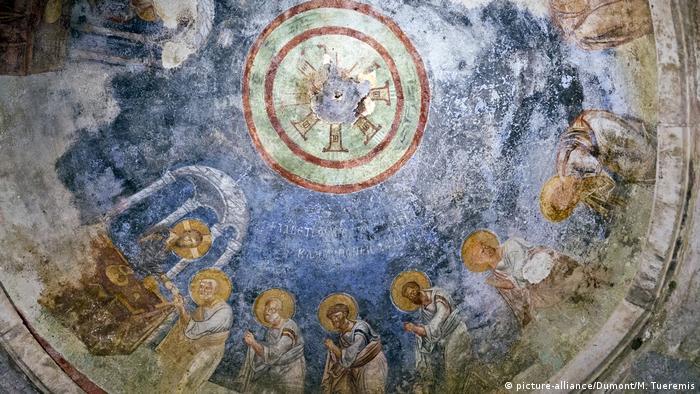 Himmlische Orte Türkei St. Nikolaus Kirche in Demre (picture-alliance/Dumont/M. Tueremis)