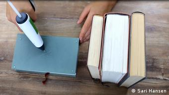 Instructions On How To Make A Knife Block Out Of Books