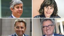Bildkombo Eurogruppe Präsidentschaft Kandidaten