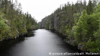 Finland's Hossa national park, the rugged canyon river of Julma-Ölkky in Hossa national park in Kuusamo, Finland, on July 24, 2017.