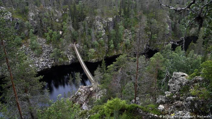 Parque Nacional Hossa, na Finlândia