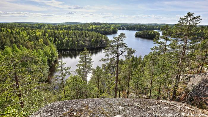Finnland Repovesi Nationalpark (picture-alliance/Lehtikuva/I. Pekkarinen)